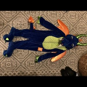 NEW NWT Blue Dragon Costume Size 4T